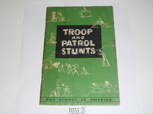 Troop and Patrol Stunts, 1-59 Printing, used