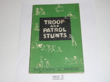 Troop and Patrol Stunts, 5-54 Printing