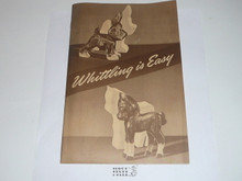 Whittling is Easy, 1-56 Printing