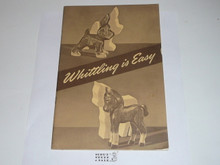 Whittling is Easy, 1945 Printing
