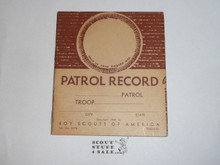 Patrol Record Book, 1-52 Printing