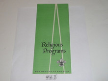 Religious Programs, Boy Scouts of America, 4-69 Printing