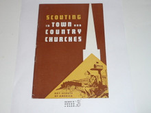 Scouting in Town and Country Churches, Rural Scouting, 7-60 printing