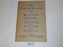 Protestant, The Scouting Program in Protestant Churches, early 1930's printing