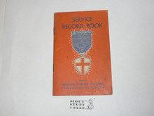 Protestant, Protestant Religious Award Medal Record Book, 1951 Printing