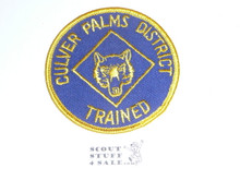 Crescent Bay Area Council, Culver Palms District Trained Cub Scout Leader Patch