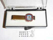 Boypower Manpower National Boy Scout Theme Tie Bar, New in Box