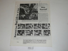Topic Reprint, You Yourself (First Aid) Boys' Life Single Topic Reprint #BL-22