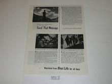 Topic Reprint, Send That Message Boys' Life Single Topic Reprint #BL-7