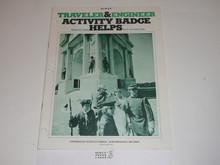Traveler and Engineer Webelo Activity Badge Helps Boys' Life Reprint #26-079, 1978 Printing