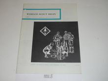Webelos Scout Helps Boys' Life Reprint #26-023, 1969 Printing