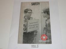 Safety Merit Badge Pamphlet, 7-72 Printing