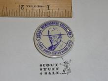 Dan Beard Scout Memorabilia Collector Celluloid Boy Scout Button