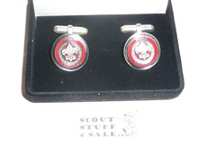 Council Scout Executive Cuff Links, New in Box