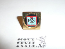 Will Rogers Council Cuff Link (single)