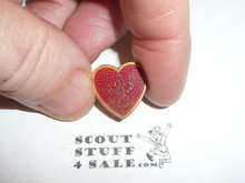 Life Scout Rank Lapel/Mother's Pin, bent wire Clasp, 17mm Tall