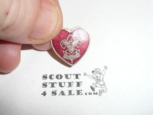 Life Scout Rank Lapel/Mother's Pin, Spin lock Clasp, 17mm Tall
