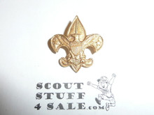 Tenderfoot Scout Rank Pin (Could be used as Generic Scouting Collar Pin), Safety Pin Clasp, 20mm Wide, Be Prepared & BS of A & Pat. 1911 back markings, Flat Back