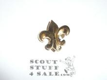 Scout Rank Pin, spin lock pin, 22 mm Tall
