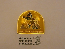 Boys Life Codemaster Pin
