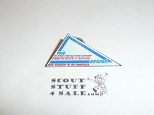 Boy Scout The Adventure Begins Pin