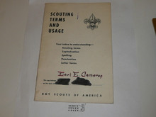 1965 Scouting Terms and Usage, 1-65 printing
