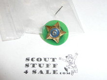 Boy Scout 6/9 Year Pin, Spin Back