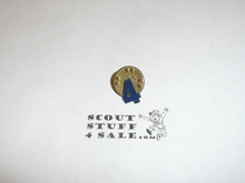 Cub Scout Metal Den Number Pin, Den 4