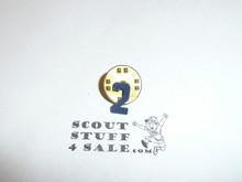 Cub Scout Metal Den Number Pin, Den 2