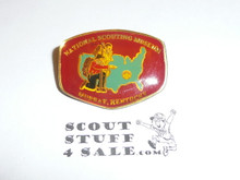 National Scouting Museum, Murray KY, Pin with resin topping