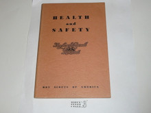 1950 Health & Safety, Local Council Manual Series, 12-50 printing