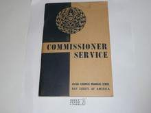 1951 Commissioner Service, Local Council Manual Series, 7-51 printing