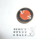 Varsity Scouting Generic Pin, bent post and no back