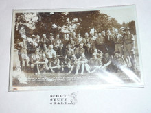 Very Early Rover Moot at Monzie Castle Photo Post card #2