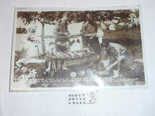 Very Early Rover Moot at Monzie Castle Photo Post card #1