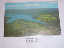1973 National Jamboree WEST Post Card