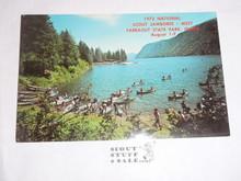 1973 National Jamboree WEST Post Card, Ariel