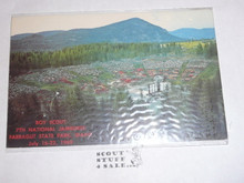 1969 National Jamboree Post Card, Friendship Arena