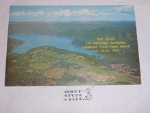 1969 National Jamboree Post Card, Ariel View