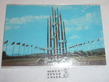 1967 World Jamboree Post Card, Tower of Friendship