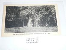 Girl Scout Post card, Camp Sacajawea, 1952