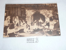 Girl Scout Post card, Camp Hitaga, Artvue, 1940's-60's
