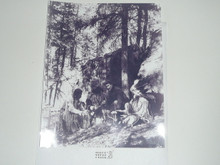 "1900's Picture of Seton with Indians, 8""x10"""