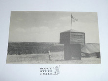 1950 National Jamboree Postcard of Pioneering Tower