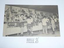 1950 National Jamboree Trading Post Postcard