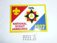 1977 National Jamboree Sticker