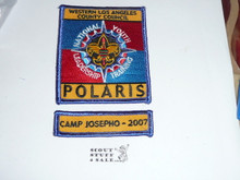 National Youth Leadership Training (NYLT) Program STAFF Camp Josepho Segment Patch, Western Los Angeles County Council