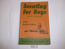 1959 Scouting for Boys, By Sir Robert Baden-Powell, Boys' Edition