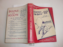 1957 Scouting for Boys, By Robert Baden-Powell, Centenary Edition, Facsimile edition of the original Fortnightly parts, Hardbound with Dust Jacket, MINT