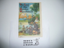 1926 The Log of the Master Woodsman, By E.T. Seton, 16 Pages With Color Illustrations